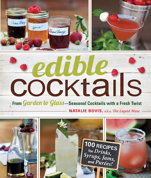 Edible Cocktails Natalie Bovis Cover th