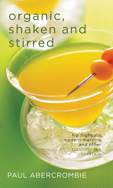 Organic shaken and stirred Cover PaulAbercrombie th