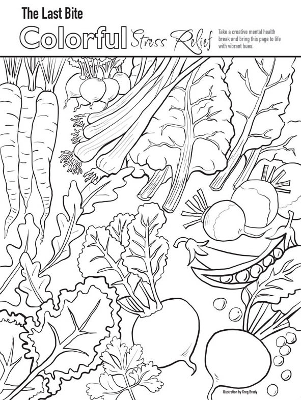 The Last Bite Spring 17 Coloring book 4 Press