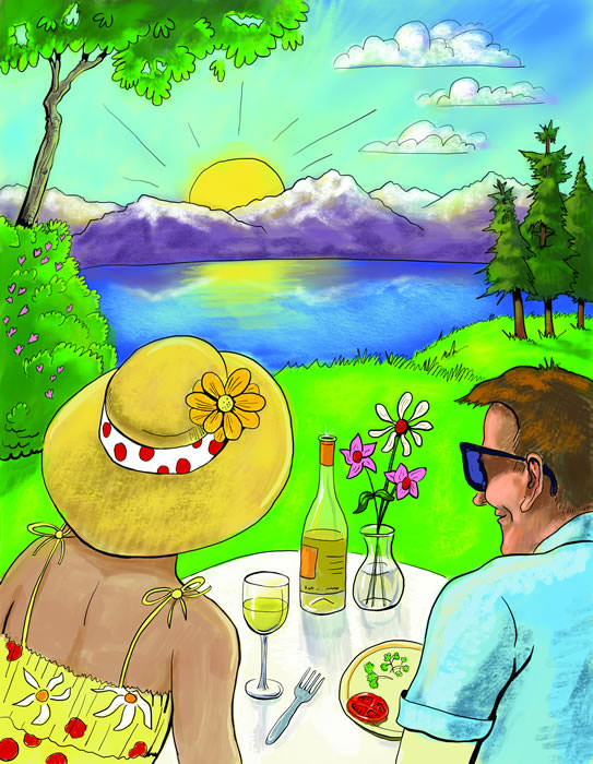 00 Al fresco Cover Story Lead Art or use as spot illustrationth
