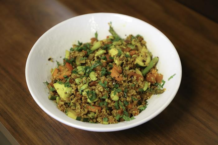 Chickpea Quinoa Salad wr
