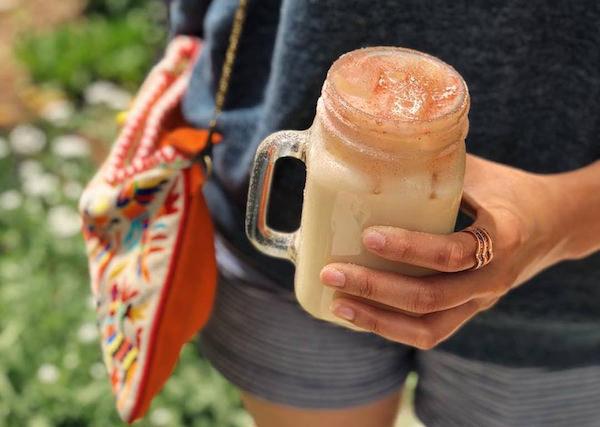 jasmine rose tea latte Coffeebar