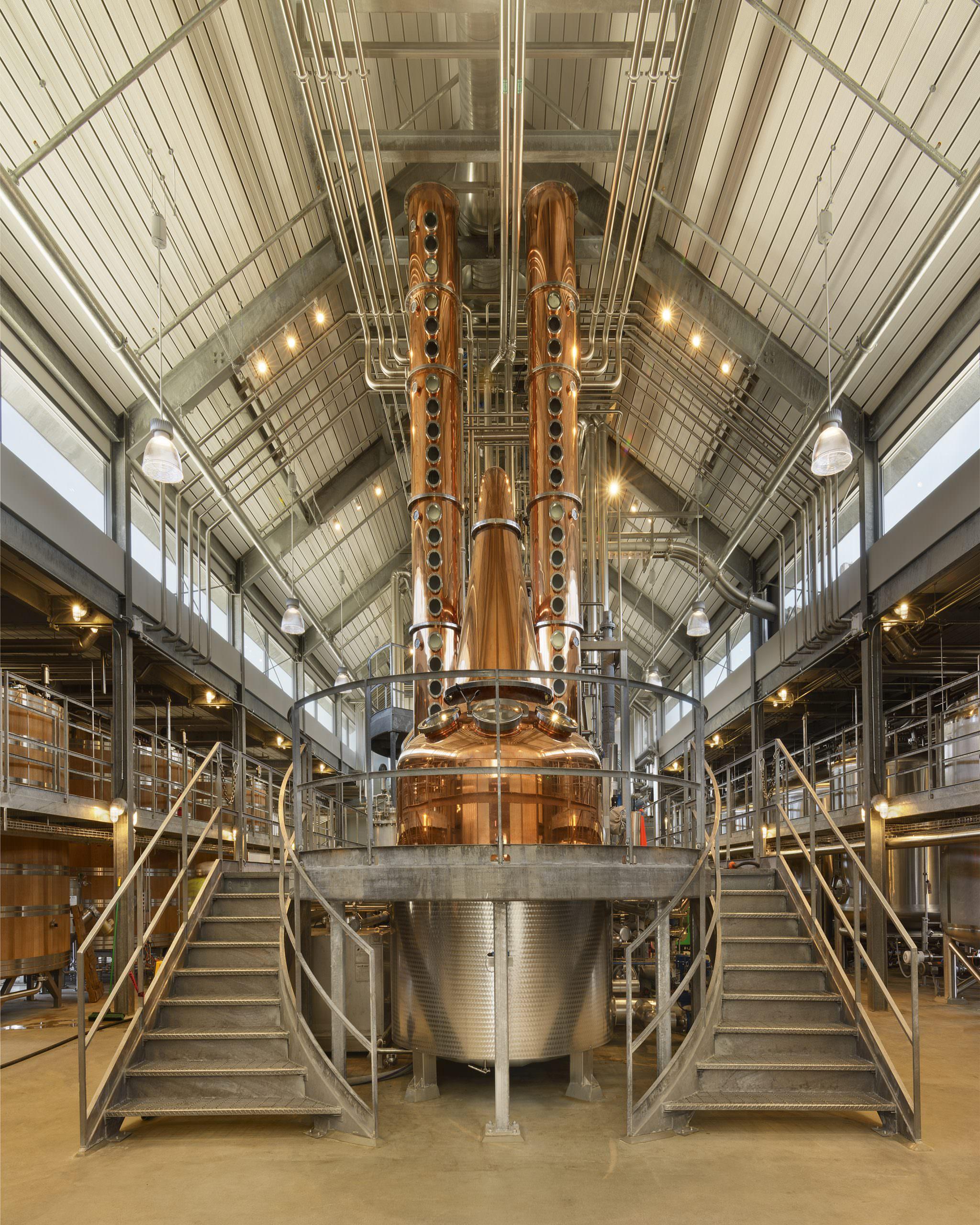 Bently Distillery interior 1