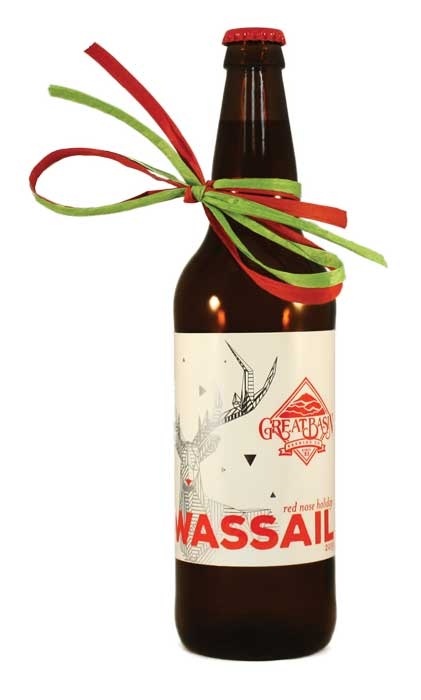 web Beer Releases Great Basin Brewing Red Nose Holiday Wassail Ale