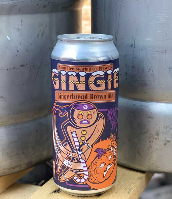 web Beer Releases Shoe Tree Brewing Gingie Can Image